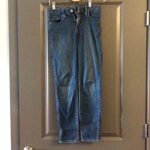 Genetic Denim Brooke Crop Skinny Jeans Size26